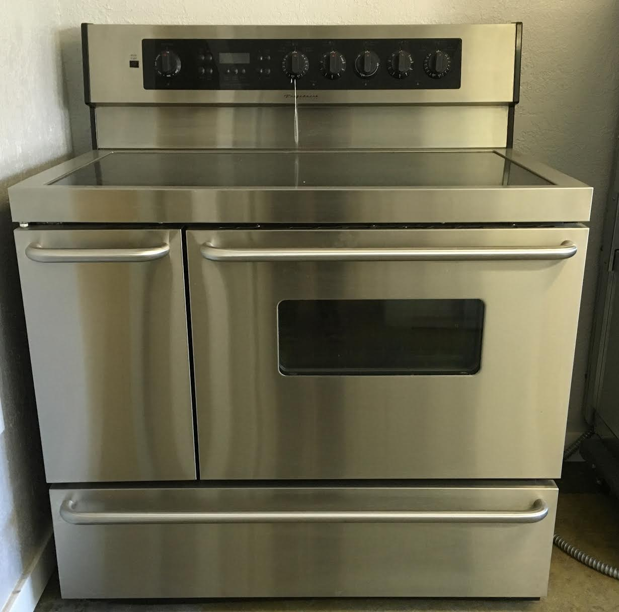 Electric Range Used 40 Inch