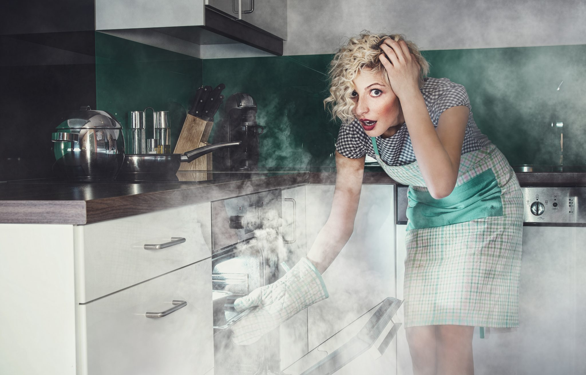 when not to self clean oven