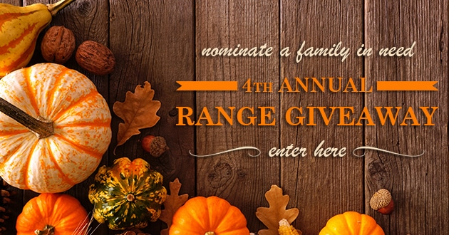 range giveaway