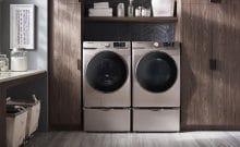 Samsung front loader washing machine won't spin